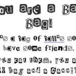 Bag of balls for a ball bag